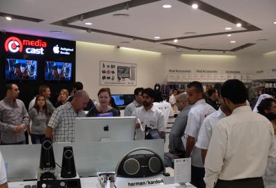 Mediacast brings new Apple store to Dubai