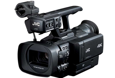 JVC introduces 4K handheld camcorder