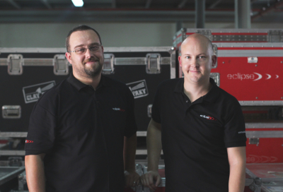 Eclipse Staging Services appoints two key roles
