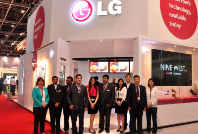 Life looking good for LG at InfoComm MEA