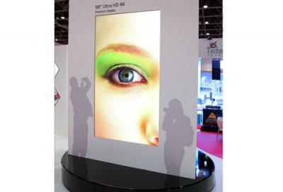 LG Electronics unveils 98-inch Ultra HD