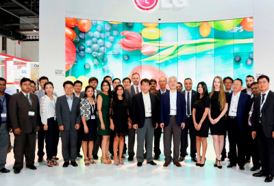 LG launches new video wall at GITEX