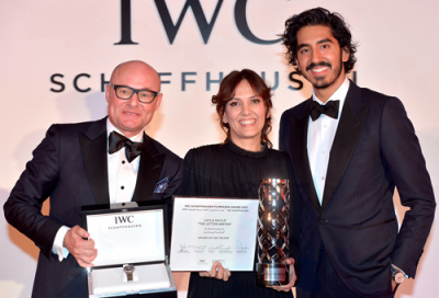 Layla Kaylif wins 4th IWC Filmmaker award at DIFF