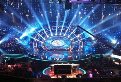 MBC studios lighting supplied by Prolites