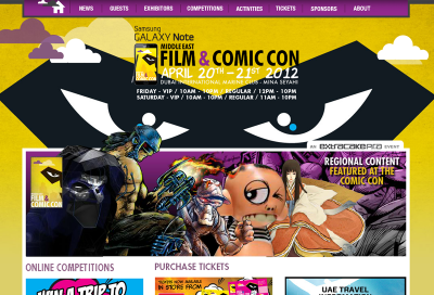First Middle East Comic Con takes place in Dubai