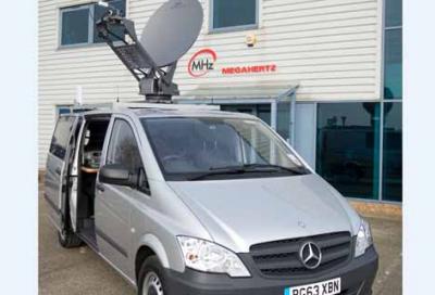 Megahertz to showcase newsgathering vehicle
