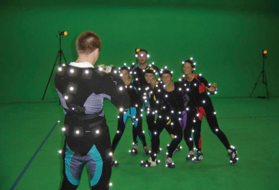 Tracking motion capture