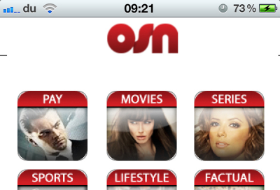 OSN launches 'MY OSN' app for iPhones