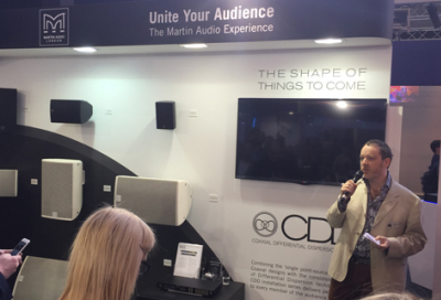 Martin Audio uses Prolight + Sound to unveil CDD
