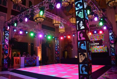 Matrix AVE brings Studio 54 theme to Battuta Gate