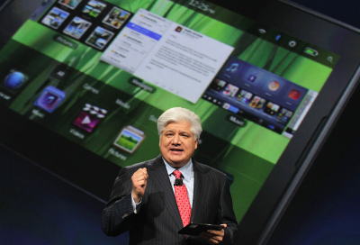 BlackBerry launches iPad rival Playbook
