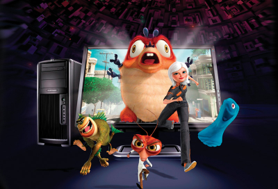 Monsters Vs Aliens brings 3D animation to the fore