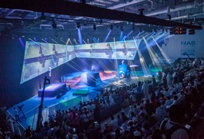 Protec illuminates opening ceremony with Clay Paky