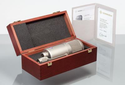 Neumann reissues U47 fet condenser microphone