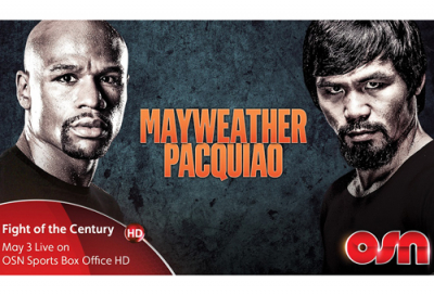 OSN to air Mayweather vs Pacquiao bout in UAE