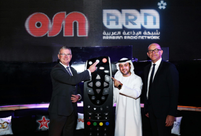 ARN radio brands now available via OSN