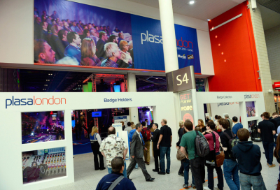 Educating the industry at PLASA London