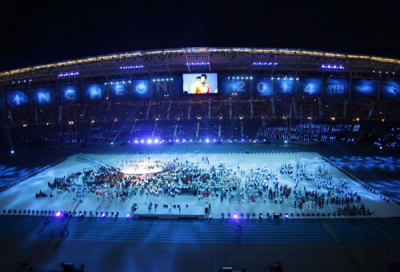 PR Lighting fixtures dominate at Asian Games