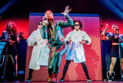 A Shure decision on Pharrell's latest tour