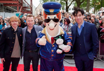 Postman Pat movie premieres in London