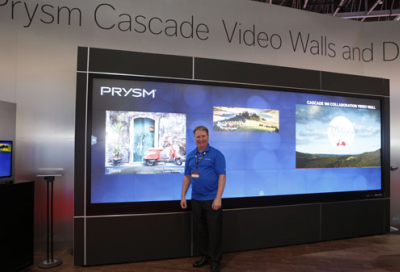 Regional debut for Prysm video wall solutions