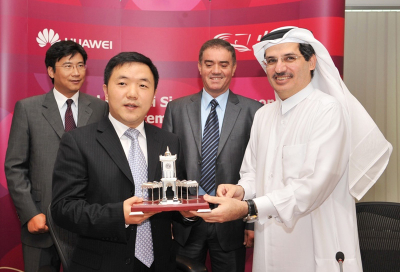 Qtel gets Huawei Qatar broadband boost