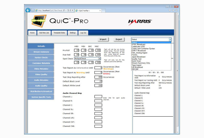 Harris introduces Quic software family