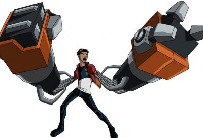 Generator Rex joins Cartoon Network Arabic team