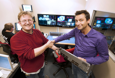 Riedel donates to Dutch charity TV