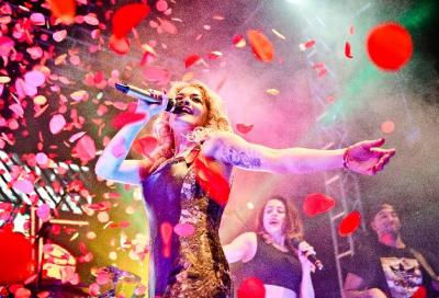 Rita Ora goes Radioactive with Sennheiser