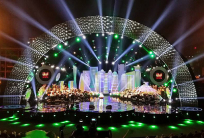 Doha festival shines with Robe fixtures