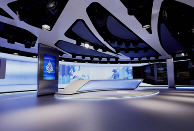 New Al Jazeera London studio relies on Robe