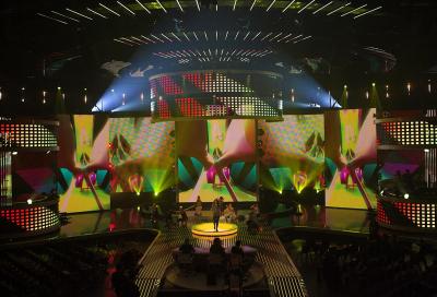 Robe lights-up German Pop Idol