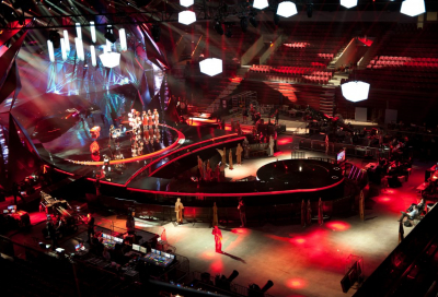 MA Lighting at Eurovision Song Contest