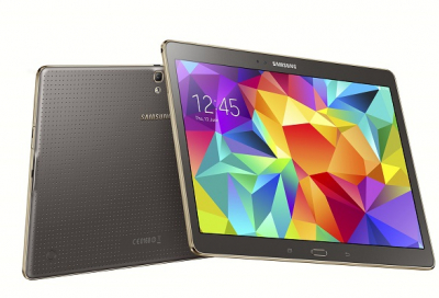 Galaxy Tab S features two screen technology