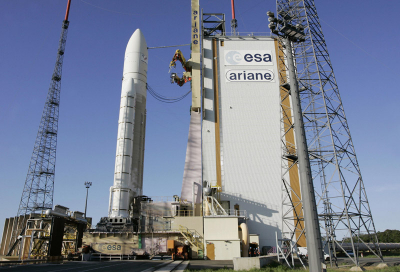 Eutelsat 3D readies for launch in May
