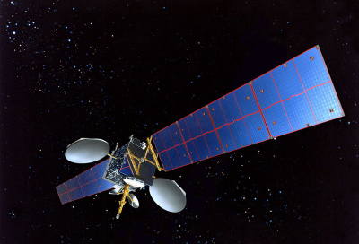AsiaSat 6 arrives at Cape Canaveral