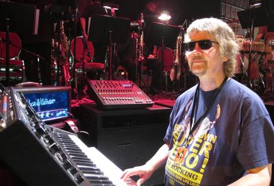 Deep Purple keyboardist opts for Soundcraft mixer
