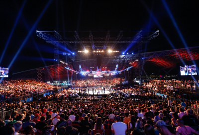UFC proves a knock-out in Abu Dhabi