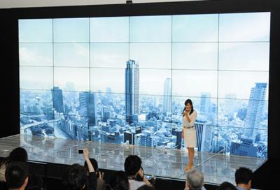 IN PICS: Sharp's latest multi-screen system