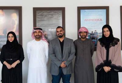 Emirati students attend La Femis School