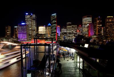 Clay Paky at Sydney's Vivid Festival of Lights