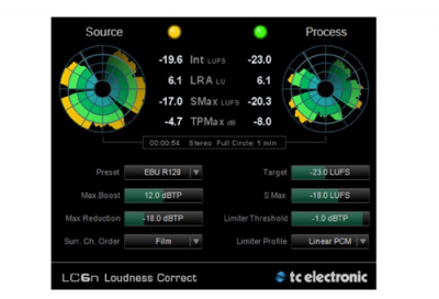 TC Electronic launches loudness correction plug-in