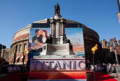 Cameron chooses Christie for Titanic 3D premiere