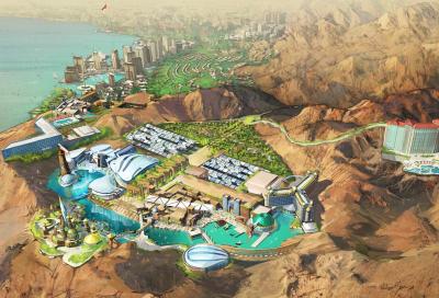 Rubicon announces USD1bn themed resort