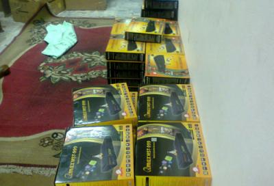 Egyptian police in major raid against TV piracy