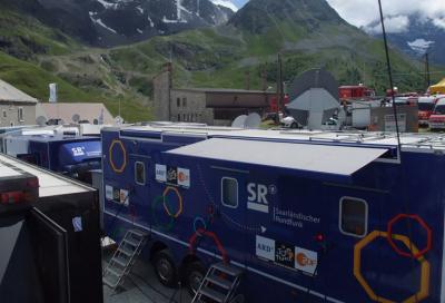 EVS and Riedel team up for Tour de France