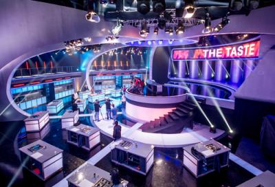 Over 800 PR Lighting fixtures used for top TV show
