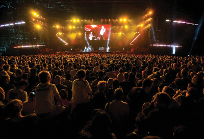 Top 5 live event productions of 2009