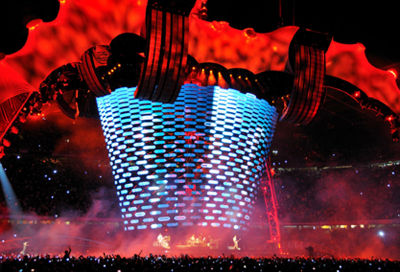 Kinesys 'transforms' U2 stage production